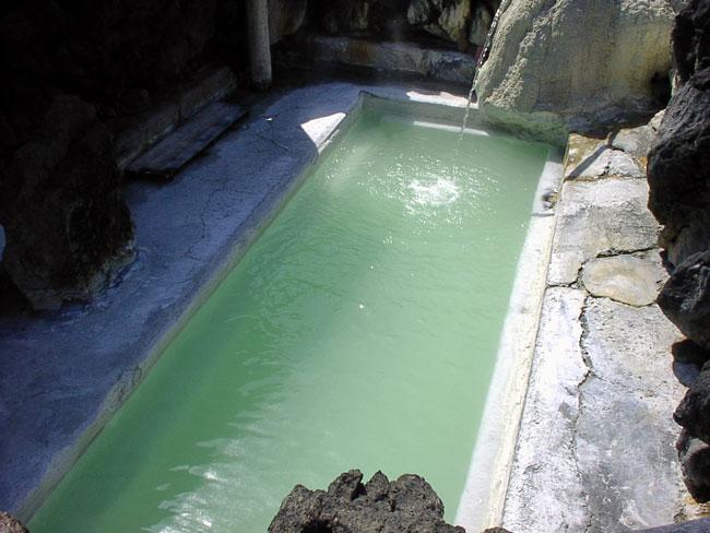 岩手 国見温泉の石塚旅館の露天風呂