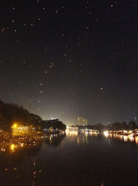 星ではなく